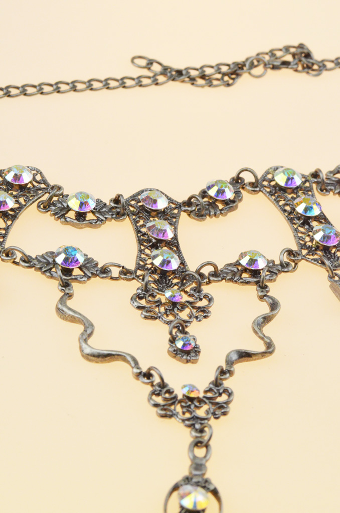 Swarovski Choker Set - close