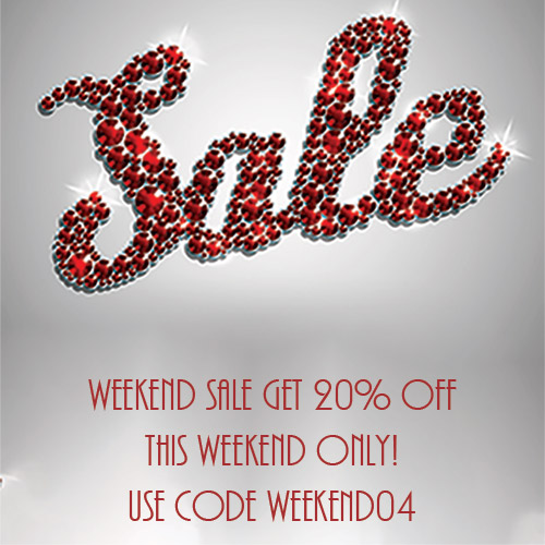 weekend sale april at yazzy's